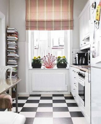 Classic Black And White Kitchen black,white, and kitchen all over - one rare bird