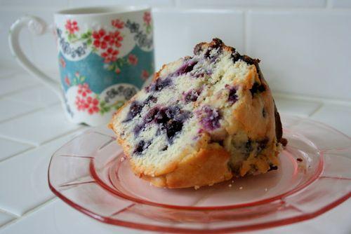 Blueberry Pound Cake (5)